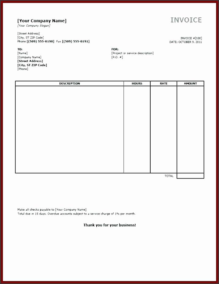 free printable invoice template microsoft word free printable invoice template word free printable invoice template word