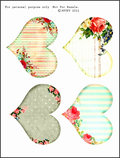 Free Pretty Things For You DIY Printable Biscuit Labels Template