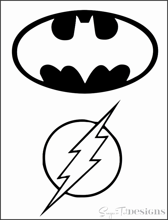 Superhero Bins Tutorial and Printable