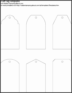 Make Your Own Custom Gift Tags With These Free Printable Templates