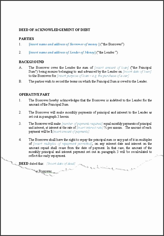 Loan Agreement interest and principal
