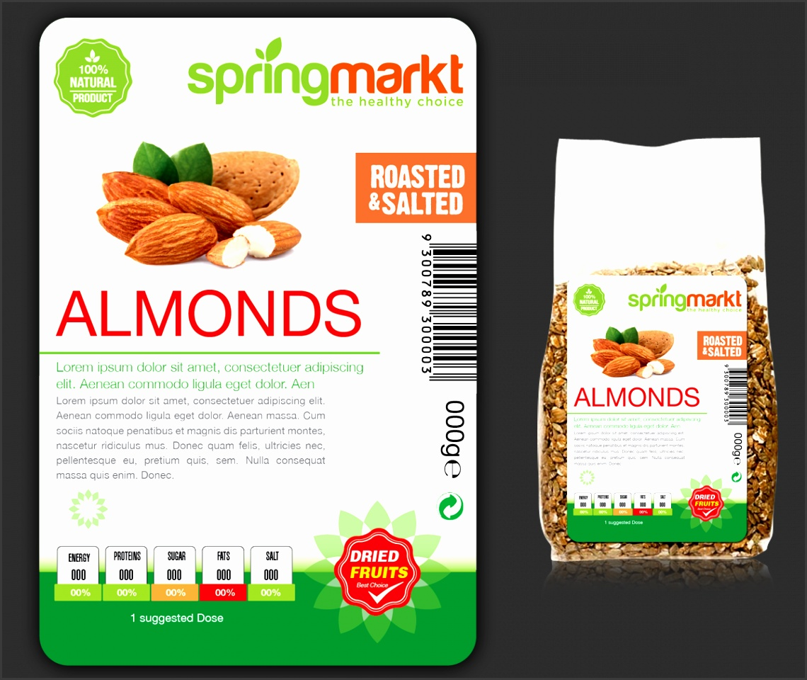 Label Design By Ravi k5 For Product Label template Design Amazing Ideas