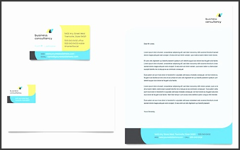 Small Business Consultant Sample Letterhead Template