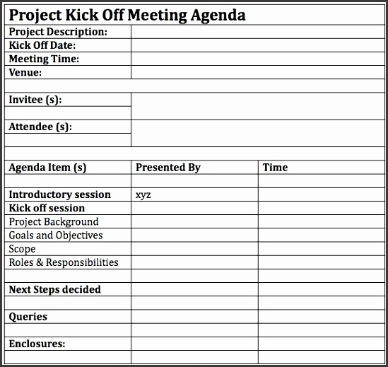 How To Successfully Lead A Project Kickoff Meeting Project