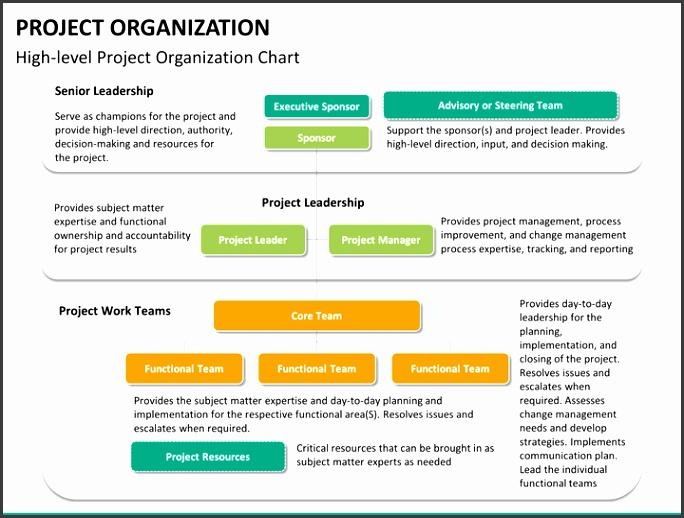 Project organization PPT slide 13