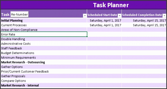 Payroll Implementation Project Plan Template Excel Template Free Download