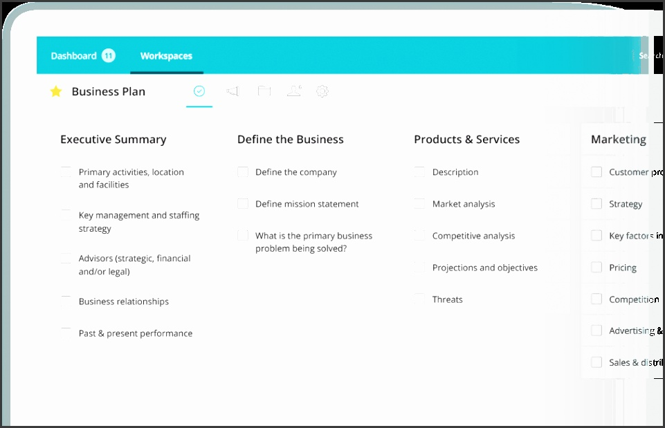 Choose a free project management template