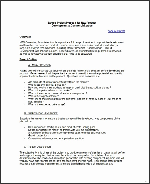 Project proposal sample expert consulting template 11 word psd documents
