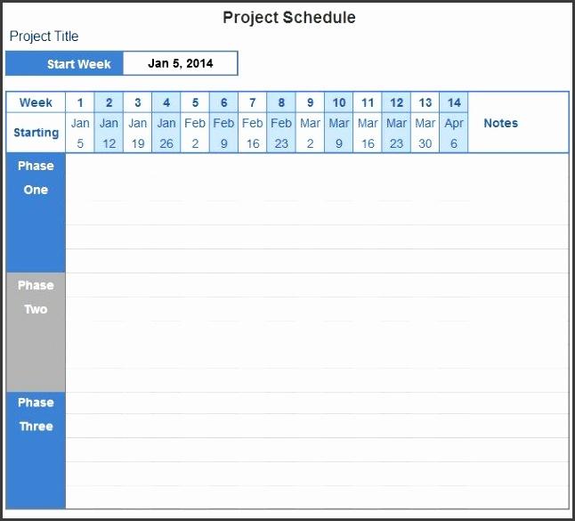 Project Schedule Template Quest Diagnostics Houston project schedule templates