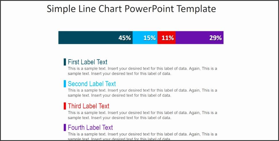 timeline template line chart presentation