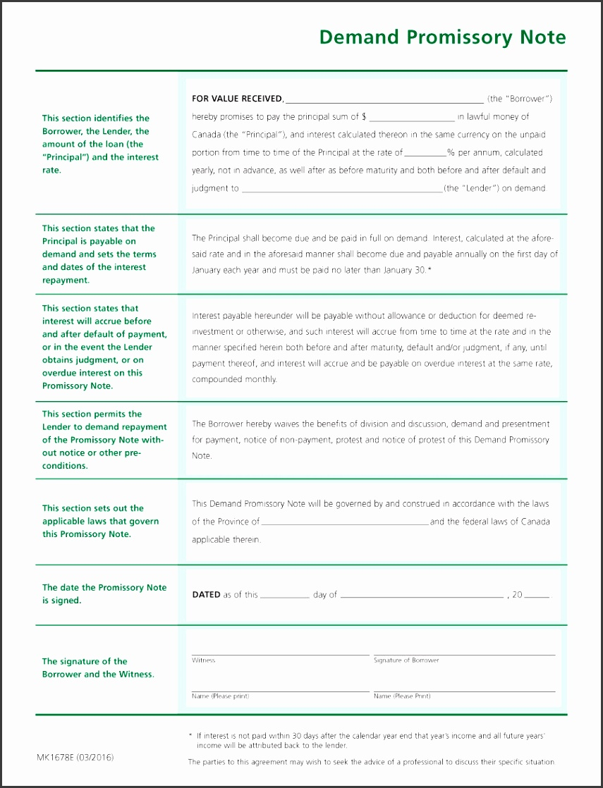 Free Promissory Note Templates Forms Word Pdf Templateab Personaloan Contract Agreement Nz