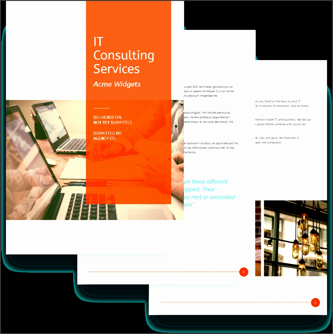 IT Services Proposal Template