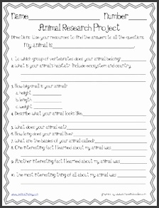 Animal research template More