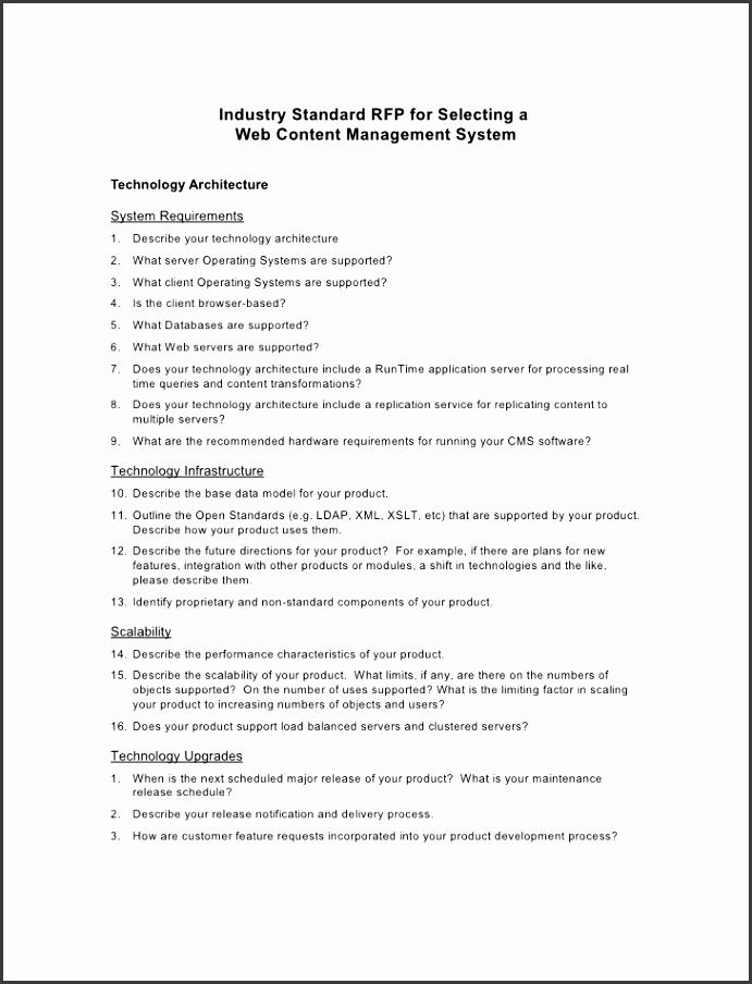 click here to the sample content management rfp