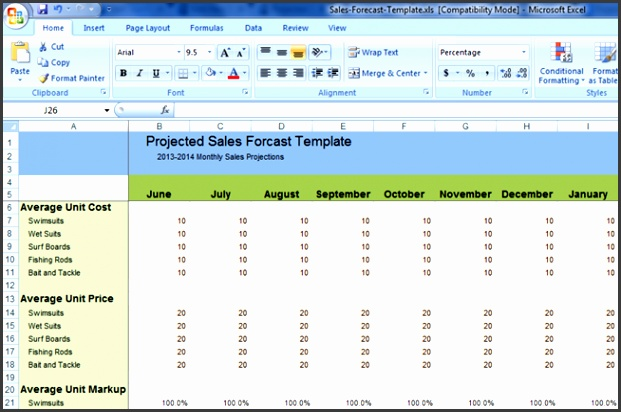 Useful ideas for XLS Excel Sales Distribution Chart template