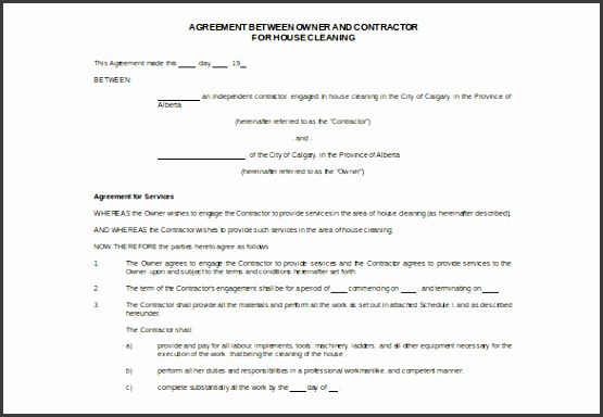 This template design can contain all the important points of the service contracts These points are mentioned in the form of an overview of the entire