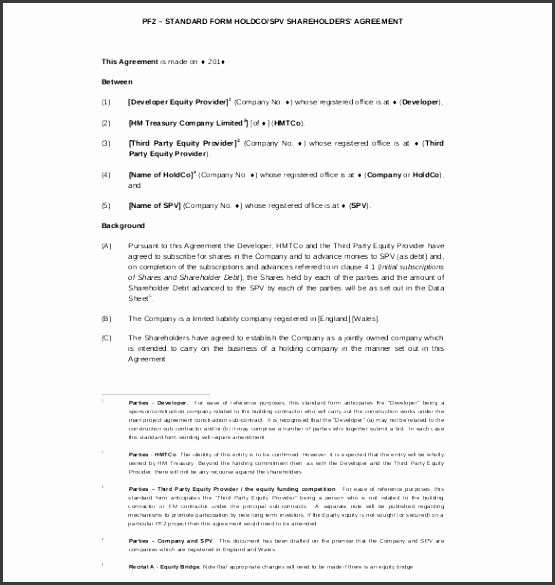 simple shareholders agreement template 11 shareholder agreement templates free sample example format ideas