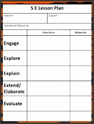 Printable Lesson Plan Template Sample Siop Lesson Plan Template