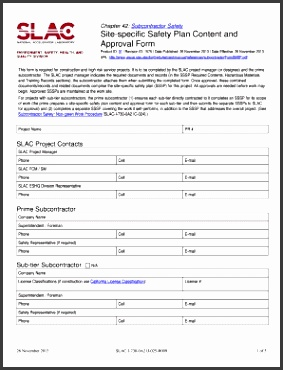 Construction Safety Plan Forms And Templates – Fillable pertaining to Site Specific Safety Plan Template