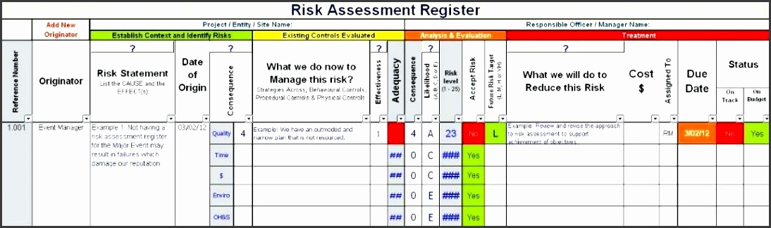 project risk management plan business risk management plan template software project risk management plan example