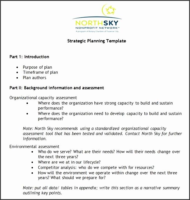 Non Profit Strategic Plan Template Free Word Pdf Documents inside Nonprofit Strategic Plan