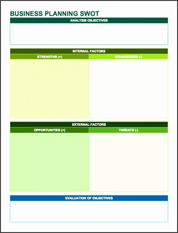 14 free swot analysis templates smartsheet