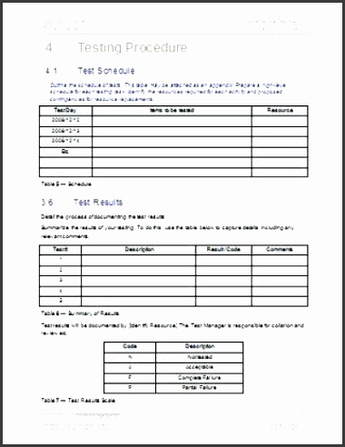 test plan template excel acceptance test plan template test plan template excel free