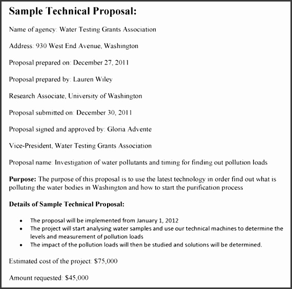 Technical Proposal Template inside Technical Proposal Template 2346