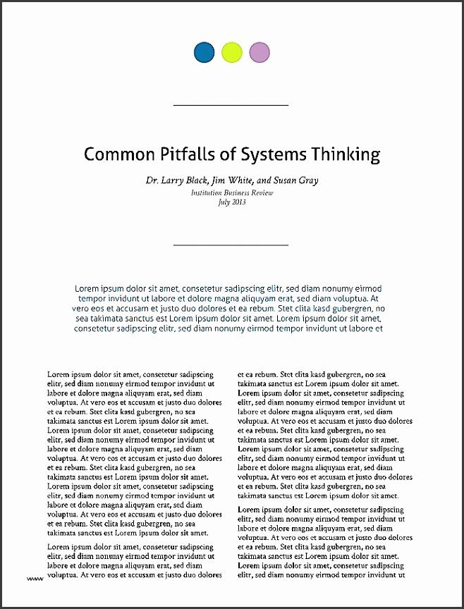Longform Technical White Paper Template