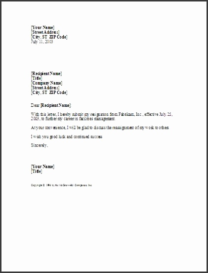 The 25 best Professional resignation letter ideas on Pinterest notice period resignation letter