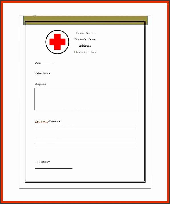 dr notes templates bonus doctor notes template 04 7