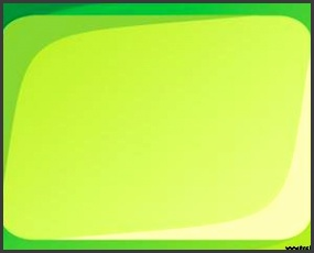 Green background Power Point Template