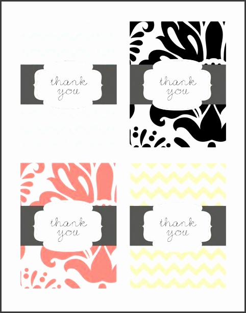 15 Free Printable Thank You Cards You Can Personalize for Printable Thank You Card Template
