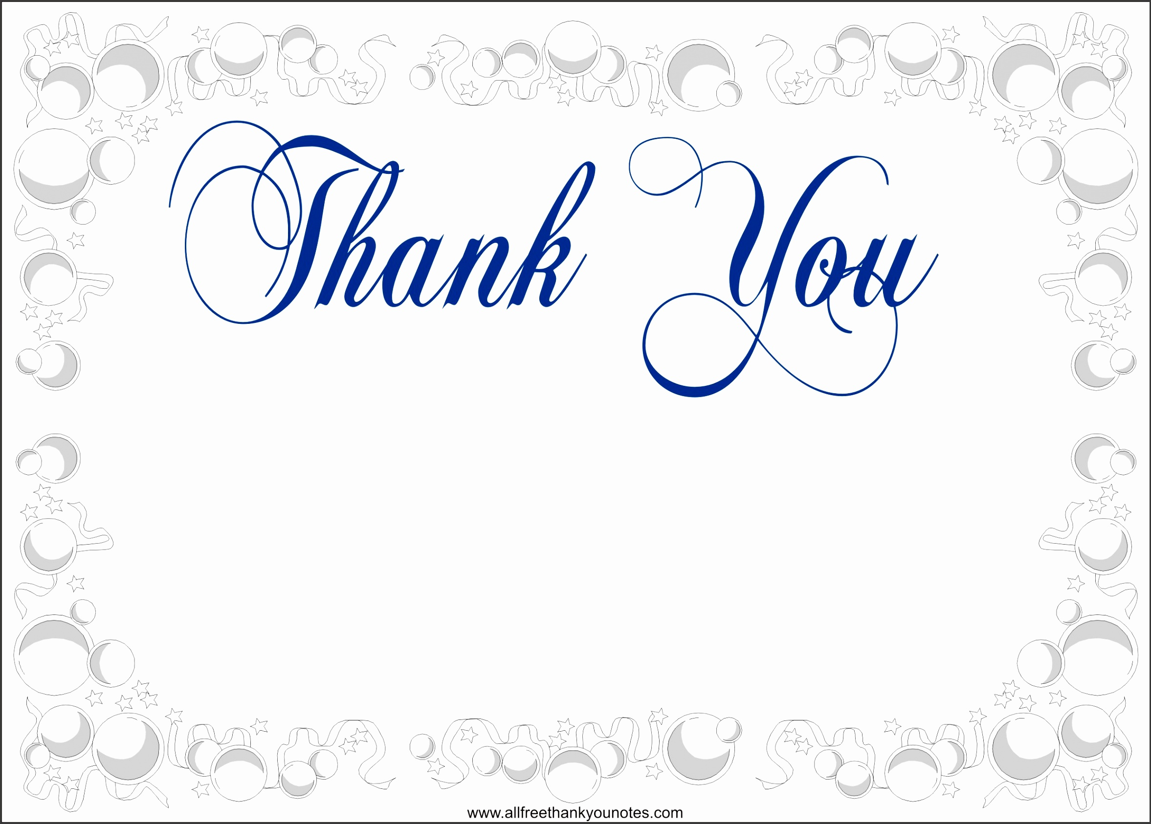 printable ideas thank you card templates wording best sample display white blank sample text