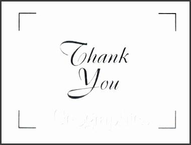 White Silver Foil Thank You Cards w Envelopes 4 25x5 5 24