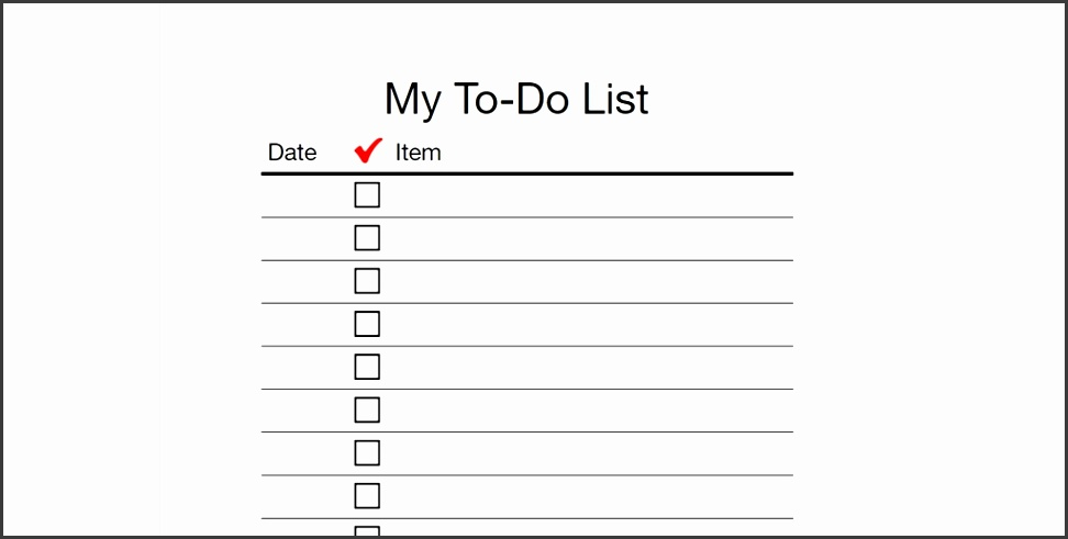 Every To Do List Template You Need The 21 Best Templates regarding To Do List