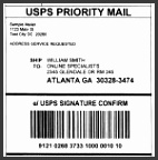 32 Package Address Label Template Shipping Labels Shop Printable with Usps Shipping Label Template