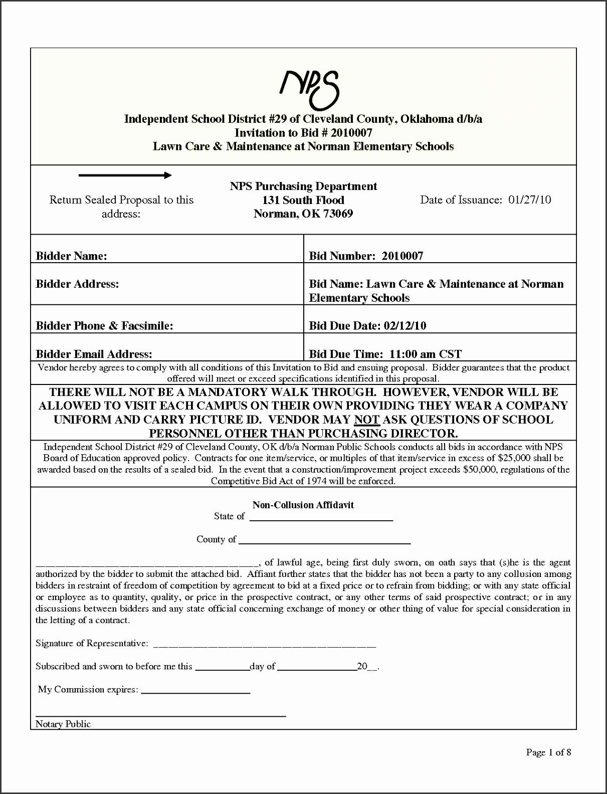 7 Vendor Proposal Template - SampleTemplatess - SampleTemplatess