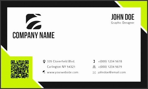Businesscard template 1 Preview