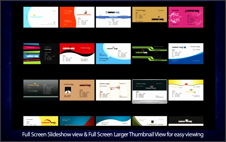Adobe shop Business Card Templates