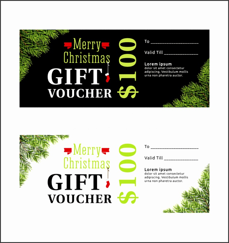Download Merry Christmas Gift Voucher Certificate Template Design Stock Image of free certificate