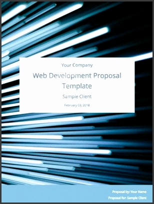 Web Development Proposal Template