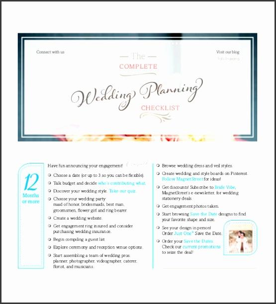 Couple Wedding Checklist Template