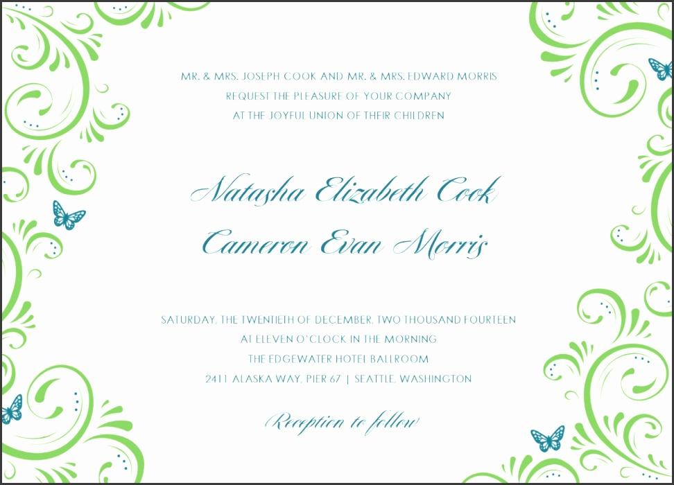 hindu marriage invitation card template free indian marriage invitation card template free