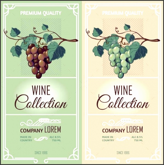Simple Wine Label Template