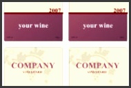 Gallery of Wine Label Template Word 6