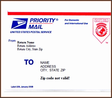 Shipping label template word simple 4 templates excel formats