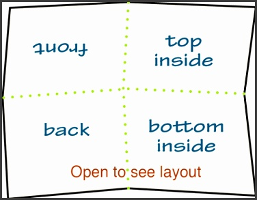 Quarter Fold Template Quarter Fold Greeting Card Template Microsoft Word Gsebookbinderco