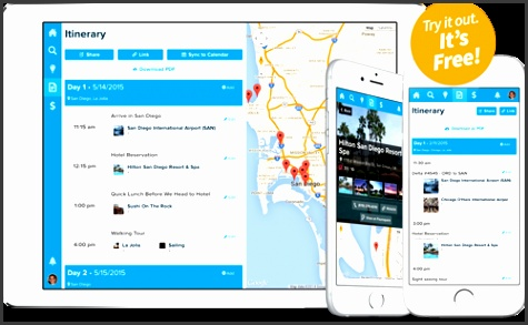 Free Itinerary Builder