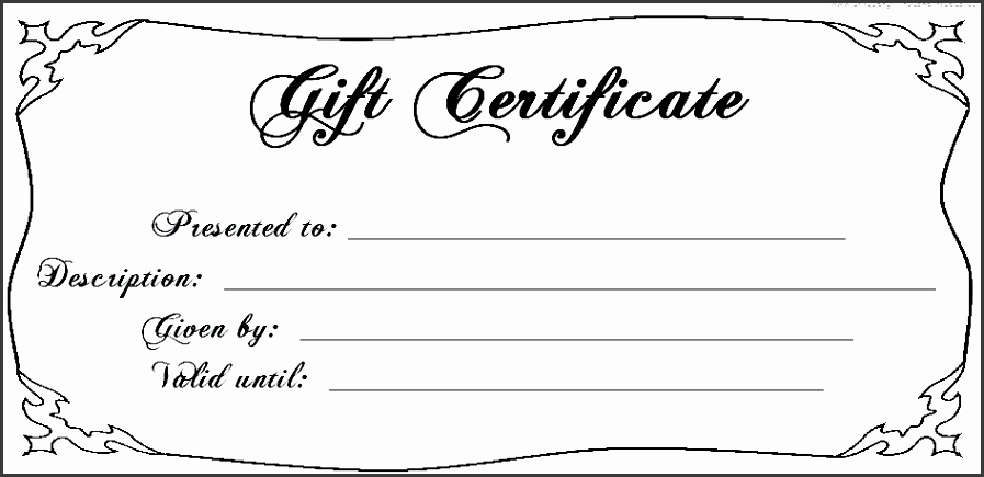 present voucher template free printable blank t certificate 5 t certificate template word mac